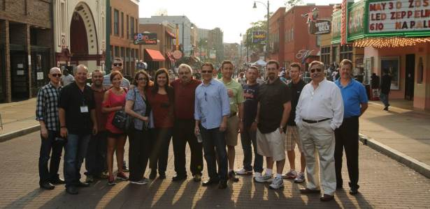 The Real Estate Guys radio show hosts lead a group of enthusiastic real estate investors on a weekend marketplace safari in Memphis Tennessee