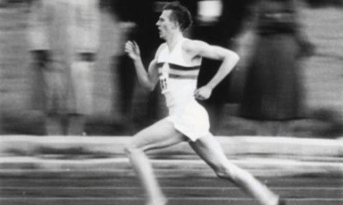 Roger Bannister was the first human to run a mile in less than 4 minutes...something that world class runners do regularly today.
