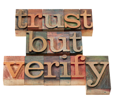 Trust but verify - seller's are supposed to tell you ALL about the property. But sometimes they leave things out.