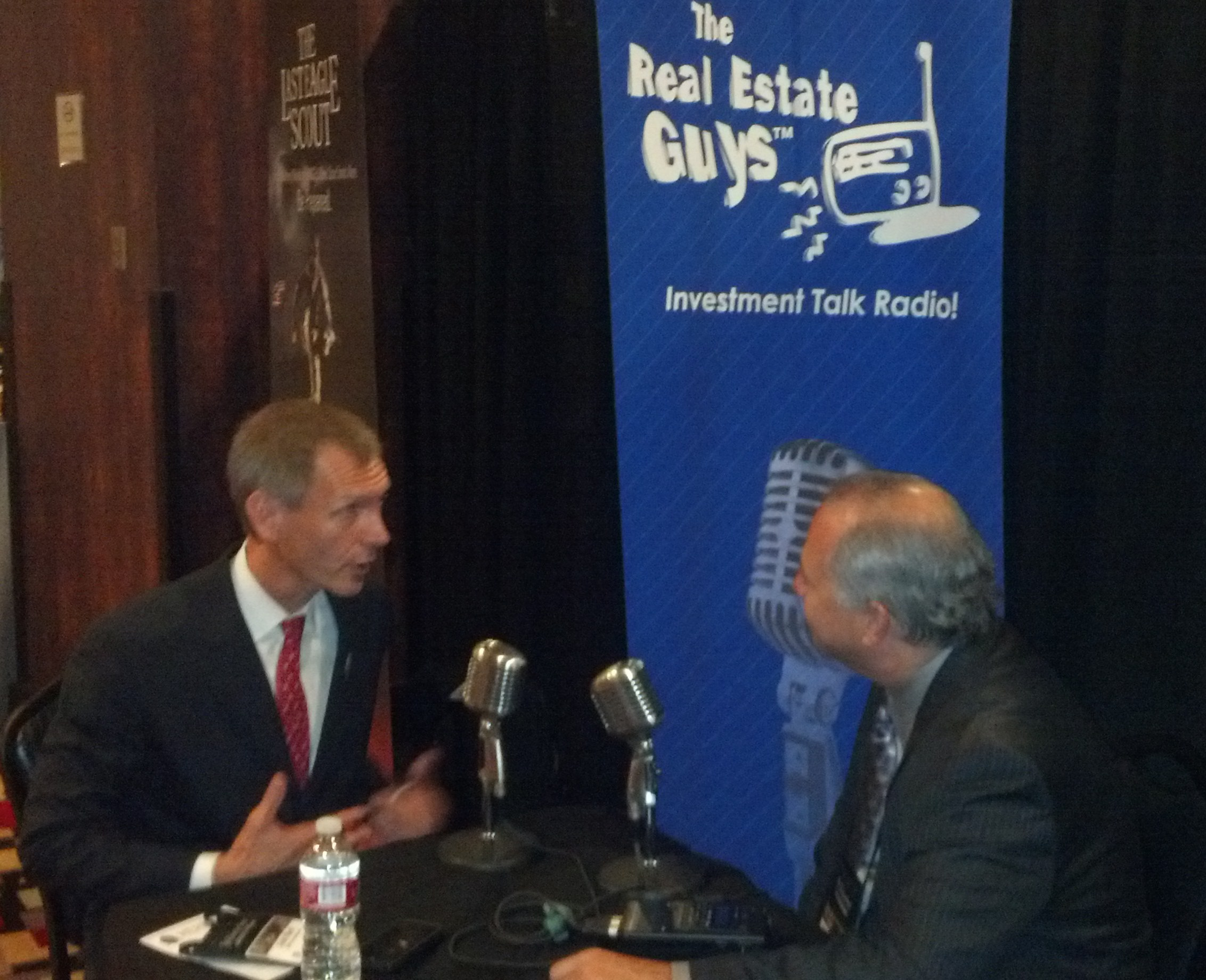 Axel Merk is intereviewed at Freedom Fest by The Real Estate Guys host Robert Helms