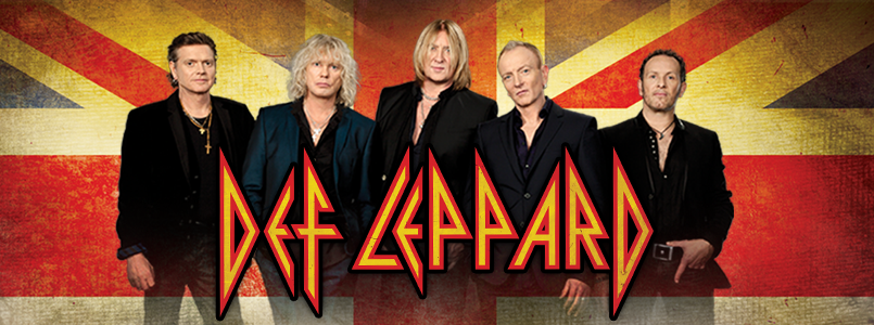 Def Leppard is one of the greatest rock bands in history
