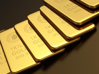 Gold is an alternative to the dollar as a liquid store of value