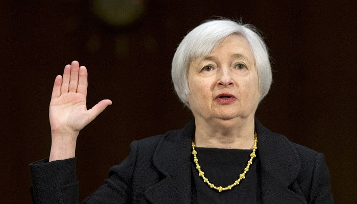 Janet Yellen swears to tell the whole truth and nothing but the truth