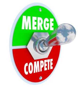 Merging companies can eliminate competition, which can improve profits but sometimes at the expense of innovation, quality and efficiency.