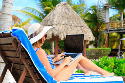 A new generation of mobile workers are able to live, work and play...all at the same time...in hotels and resorts.