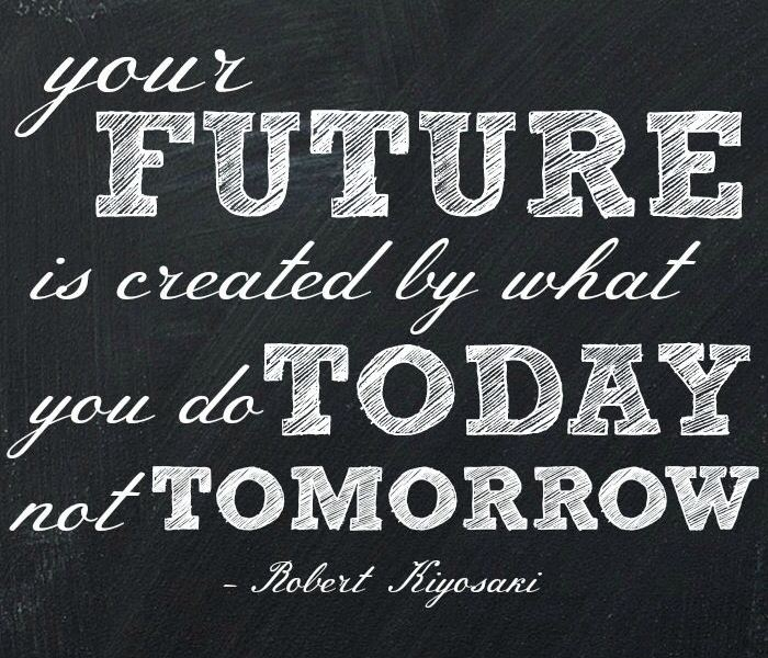 Robert Kiyosaki Second chance author quote on the future