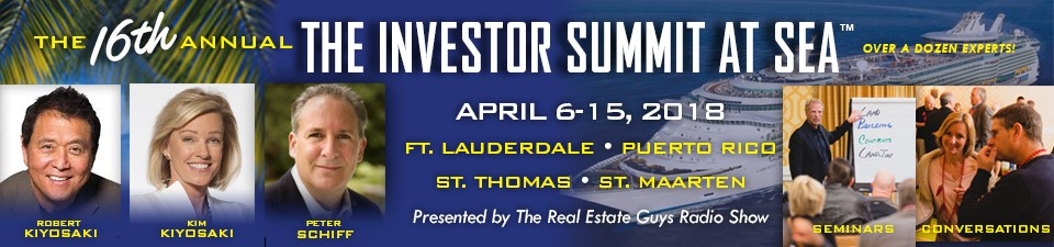 The Real Estate Guys Investor Summit at Sea on a cruise ship