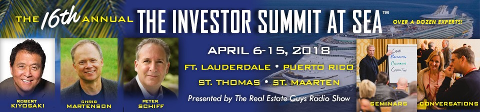 The Real Estate Guys Summit at Sea is an investing conference on a cruise ship