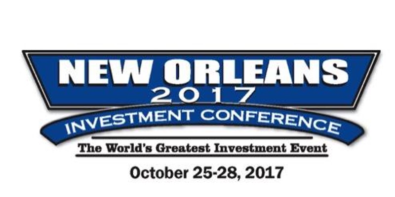 The New Orleans Investment Conference is produced by Brien Lundin and Jefferson Companies